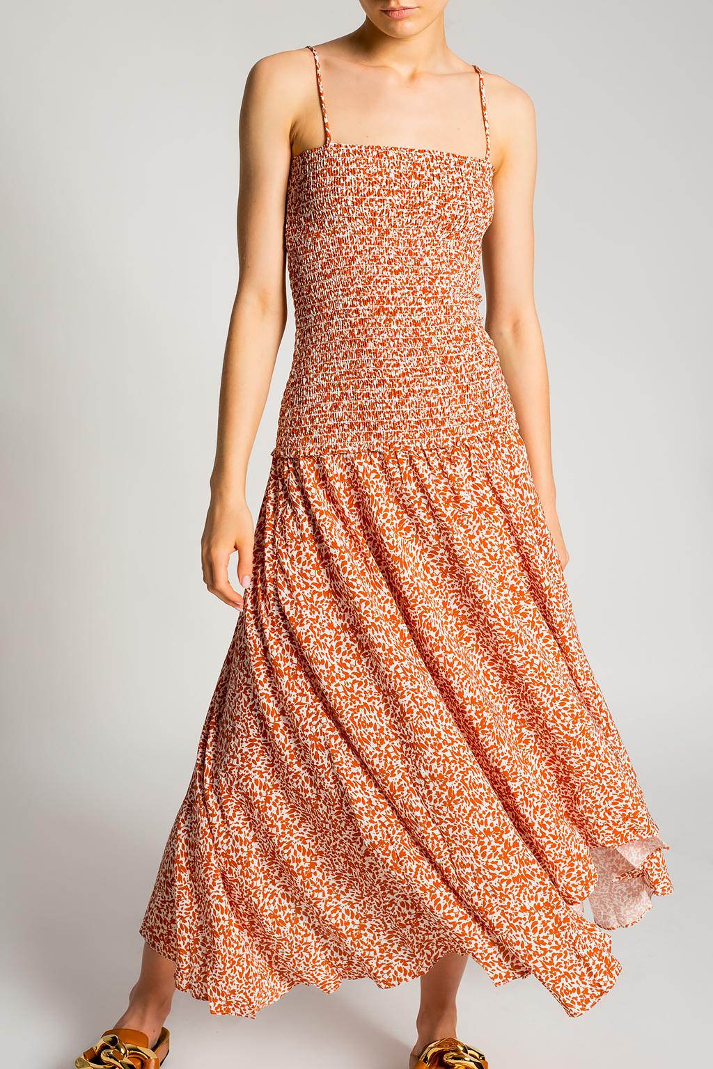 Proenza Schouler White Label Asymmetrical slip dress