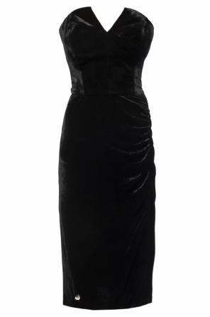 Strapless dress od Philipp Plein