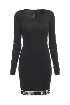 Dress with gathered sleeves od Philipp Plein
