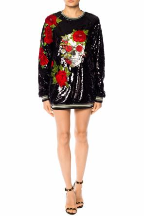 Sequinned short dress od Philipp Plein