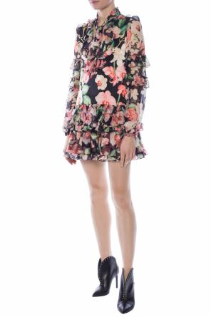 Floral motif dress od Philipp Plein