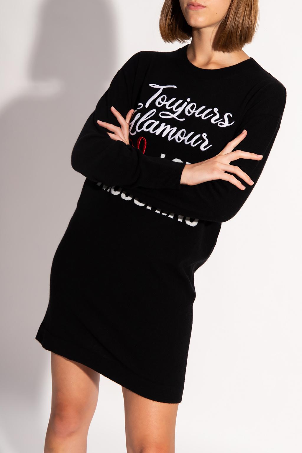 Love Moschino Sweater with logo