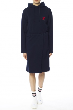 Oversize hooded dress od Vetements