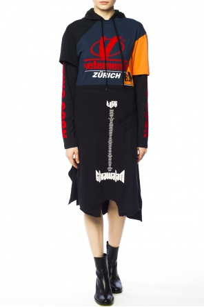 Logo-printed dress od Vetements