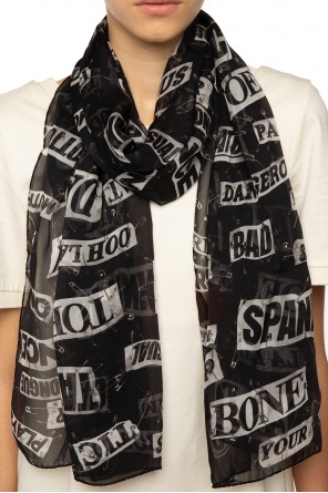 Patterned scarf od Moschino