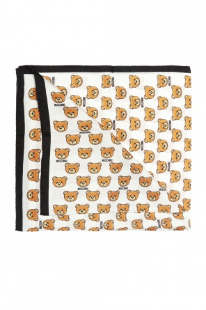 Patterned silk scarf od Moschino