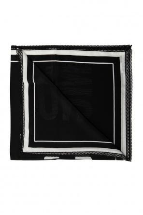 Logo scarf od Moschino