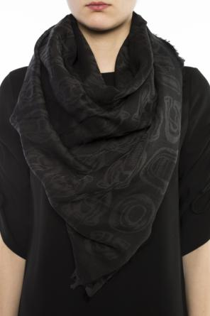 Patterned shawl od Coach