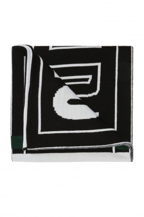 Scarf with embroidered logo od MSGM