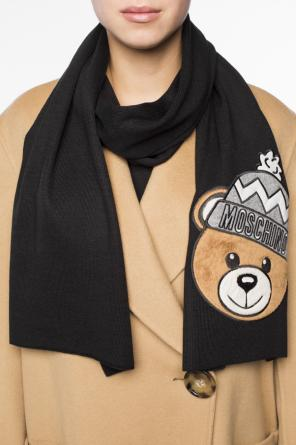 Teddy bear head scarf od Moschino