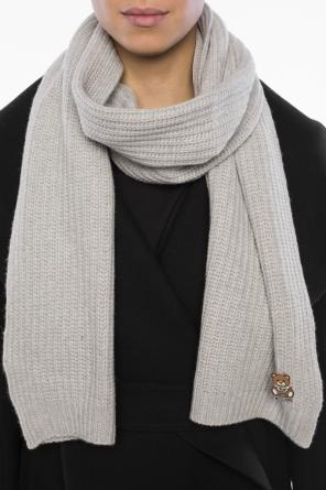 Metal pin scarf od Moschino