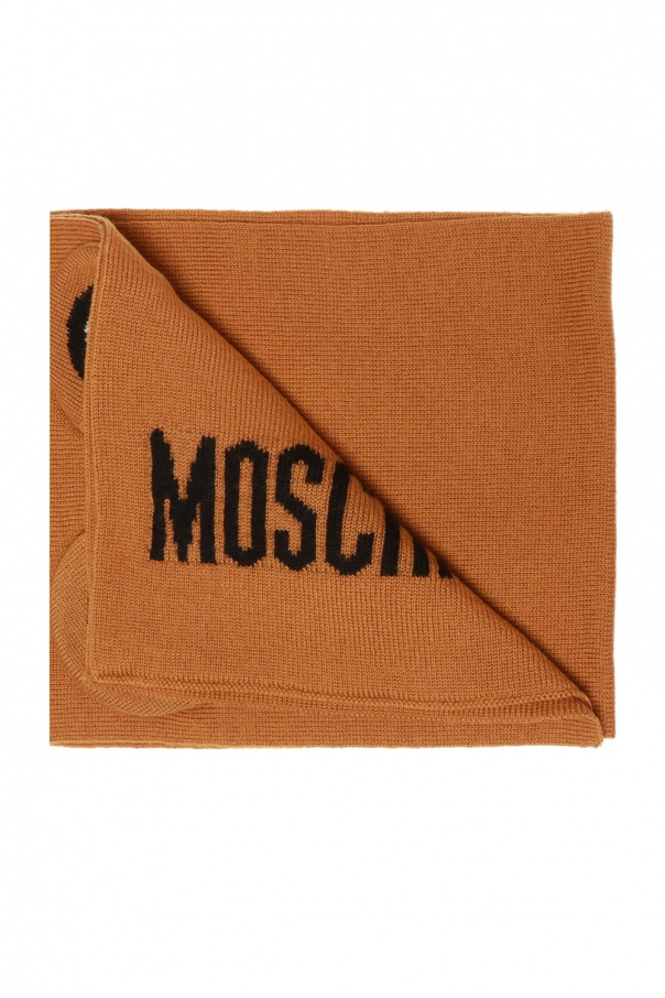 Moschino Kids Knitted scarf