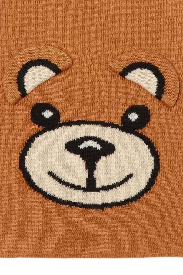 Knitted scarf od Moschino Kids