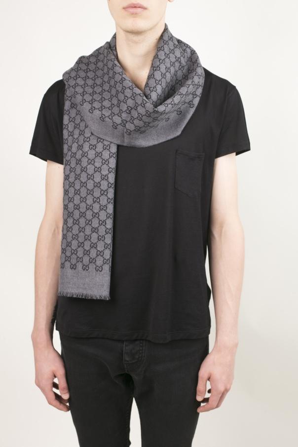 'gg' pattern scarf od Gucci
