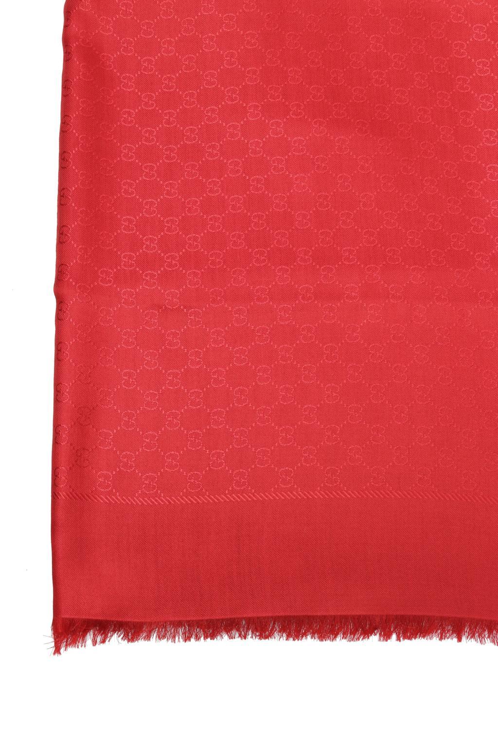 Gucci Shawl with 'GG Original' pattern