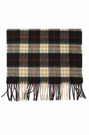 Scarf with a plaid motif od Burberry