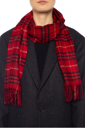Checked shawl od Burberry
