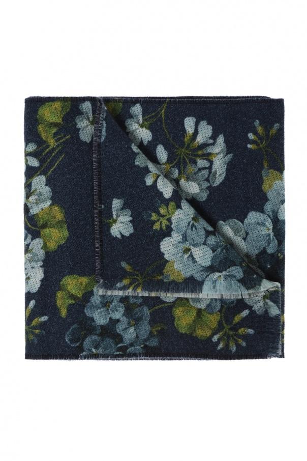 c51c2bbb3070 Blooms' printed scarf Gucci - Vitkac shop online