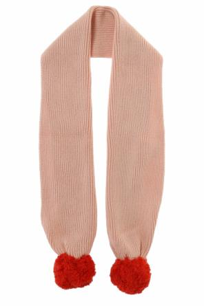 Pompom scarf od Stella McCartney Kids