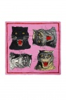 Shawl with tiger heads od Gucci