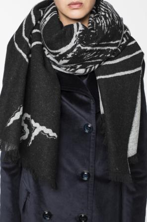 Scarf with inscriptions od McQ Alexander McQueen