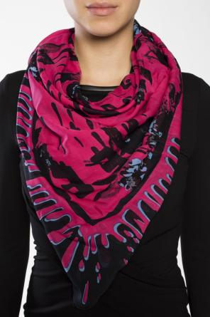 Patterned shawl od McQ Alexander McQueen