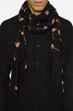 Patterned scarf od Saint Laurent Paris