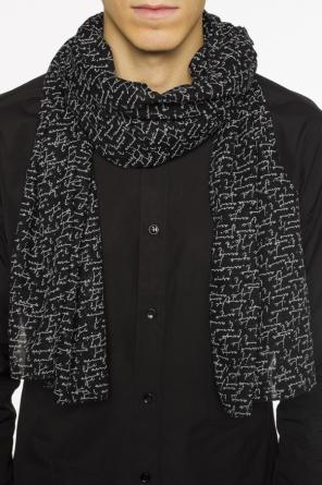 Printed scarf od Saint Laurent Paris