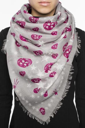Printed scarf od Alexander McQueen
