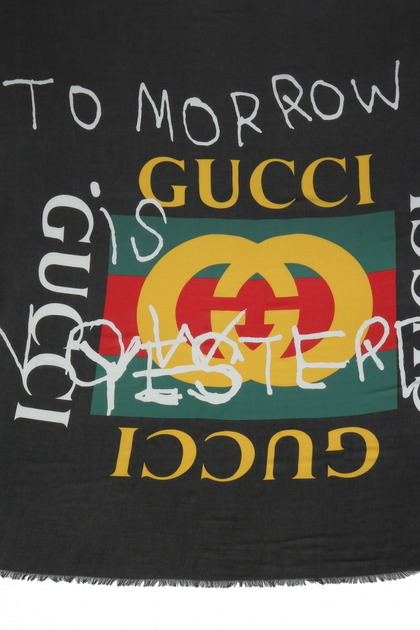 4f9630493da Coco Capitan  printed shawl Gucci - Vitkac shop online