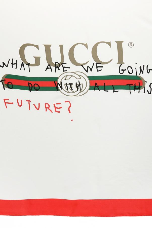 03ff53fc5 Gucci Coco Capitán logo' shawl Gucci - Vitkac shop online