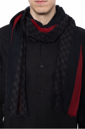 'gg web' patterned scarf od Gucci