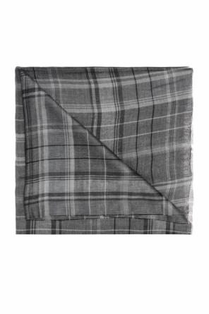 Checked scarf od Lanvin