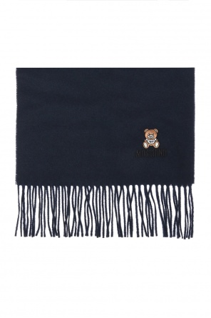 Teddy bear scarf od Moschino