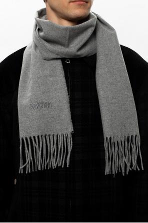 Wool logo scarf od Moschino