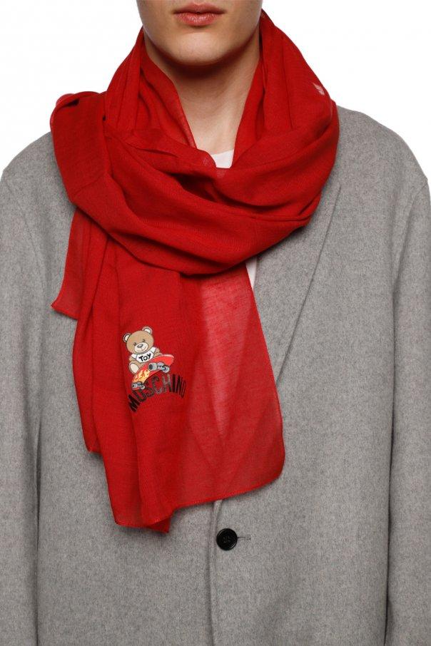 印花围巾 od Moschino