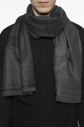 Checked scarf od Alexander McQueen