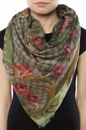 Patterned shawl od Gucci