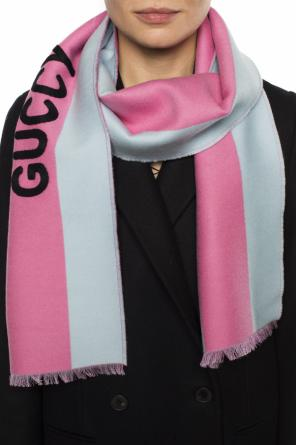 Striped scarf od Gucci
