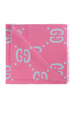 'gg' patterned scarf od Gucci