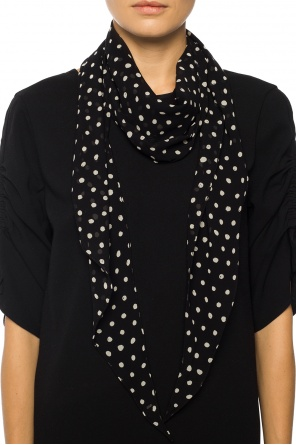 Polka dot scarf od Saint Laurent