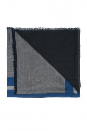 Scarf with embroidered stripes od Lanvin