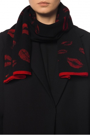 Scarf with motif of lips od Sonia Rykiel