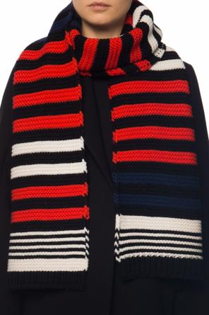 Woven scarf with a striped pattern od Sonia Rykiel