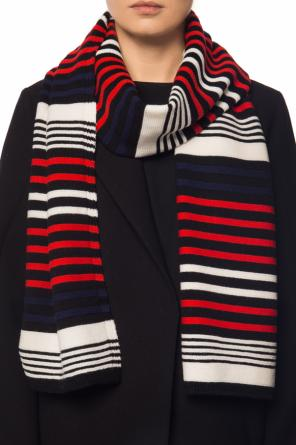Scarf with a striped pattern od Sonia Rykiel