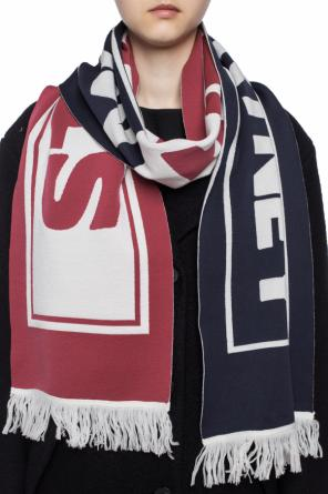 Logo-embroidered scarf od Stella McCartney