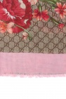 Gucci Shawl with a floral motif