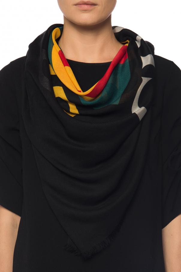 Web' striped shawl od Gucci