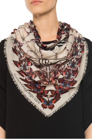 Shawl with butterflies od Alexander McQueen