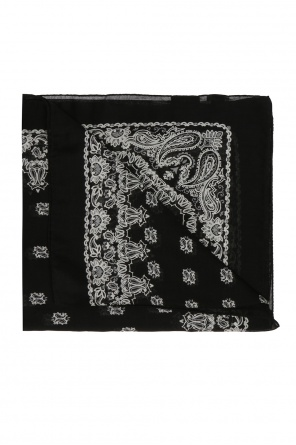 Patterned scarf od Saint Laurent